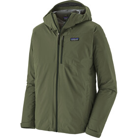 Patagonia Rainshadow Jas Heren, industrial green